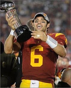 Southern California quarterback Sanchez taking game to NFL 035b8e90f