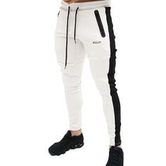 ZOGAA New Autumn Winter Mens Fitness Pants Full Length Casual Slim Running Training Trousers Sport Sweatpants Men Joggers. Sweatpants Style, Mens Sweatpants, Jogger Sweatpants, Cotton Pants, Mens Jogger Pants, Mens Trousers Casual, Sport Pants, Men Pants, Men's Fashion Styles