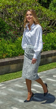 Queen Rania Australia Tour Best Dressed Moments - Image 4