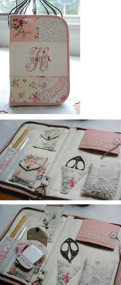 Ideas Sewing Kit Ideas Needle Book For 2019 Sewing Hacks, Sewing Tutorials, Sewing Crafts, Sewing Projects, Sewing Patterns, Sewing Kits, Purse Patterns, Needle Case, Needle Book