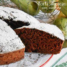 Torta al cacao con zucchine   Blog Profumi Sapori & Fantasia