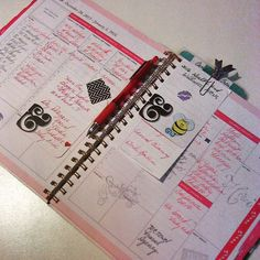 Setting up reminders for project prompts. Day Designer, Small Business Saturday, Project Life, Washi, Prompts, Social Media, Spotlights, Heart Health, Planners