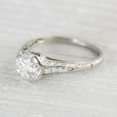 So I might be in trouble... I just found this website of vintage rings and I love each one...