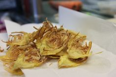 Bring on the Crispy Artichoke Chips!