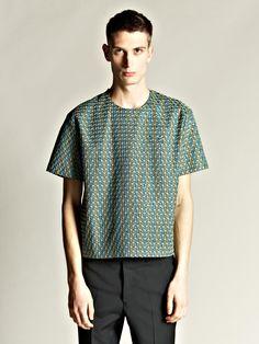 Jil Sander Men's Overstitched T-Shirt