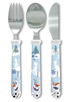 Frozen Olaf Cutlery Set http://www.parentideal.co.uk/amazon---disneys-frozen.html