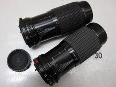 5L212FB SIGMA 80-200mm F4.5-5.6 レンズまとめて2本ジャンク_画像1