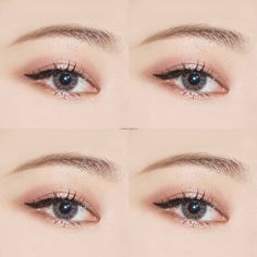 Korea Eye Make Up Idea #Korean #Ulzzang #Makeup #everyou_ Pin By #AkiWarinda