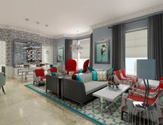 Buy the Decoration Tour Eiffel from Qui est Paul ?, on Made in Design - 48 to 72 hours delivery. Boutique Hotels London, London Hotels, Victorian Living Room, Modern Victorian, Living Room Turquoise, Living Room Grey, Living Rooms, Living Area, Ampersand Hotel