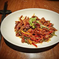 Mid day hunger pangs -  craving for some  Wok tossed Hoisin pepper lamb on a lazy afternoon at work is perfectly natural for foodies like us do u agree? . . .  #TheBTeam #topfoodblogger #food  #foodporn #instapic #instafoodie #instagram #instagood #instafood #foodgasm #foodpic #picoftheday #instadaily #like #tasty #yummy #yumm #likesforlikes #l4l #throwback #tbt #followback #follow4follow #f4f