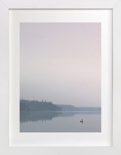 Mornings on Bluewater by Karen Kaul at minted.com