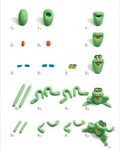 Frog Topper Picture Tutorial