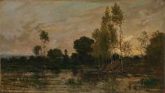 Artist Charles-François Daubigny Artist dates 1817 - 1878 Full title Alders Date made1872 Medium and support Oil on mahogany (?) Dimensions 33 x 57.1 cm Inscription summary Signed; Dated Acquisition credit Salting Bequest, 1910 Inventory number NG2623 Location in Gallery Room A: Paintings after 1600