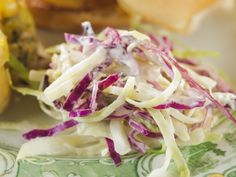 Blue Cheese Cole Slaw recipe from Trisha Yearwood via Food Network