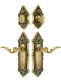 Antiques Antique Brass Edwardian Style Details 65 X 65mm To Upcycle