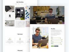 Orbit is a free HTML CSS website template that's tailored help professionals and creative individuals create a good impression to their clients. This clean and minimalist, Bootstrap Online Cv, Online Resume, Free Html Website Templates, Web Developer Resume, Popup Menu, Personal Resume, How To Make Resume, Portfolio Resume