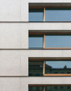 Zanderroth Architekten - Housing block (made of light-weight concrete), Berlin 2014