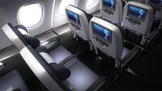 Get the inside track on the new levels of cabin comfort offered by British Airways' new Airbus super-jumbo Boeing 787 9 Dreamliner, Boeing 787 8, Airbus A380, Airplane Interior, Low Deck, Secluded Cabin, Flights To London, Thai Airways, New Aircraft