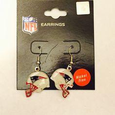 ‼️SALE‼️ NFL New England Patriots Earrings NWT NFL New England Patriots Earrings NFL Jewelry Earrings