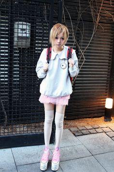 [ • pastel - outfit - eyeball - kawaii • ]