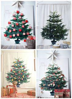 handcraftmarie mein ikea vinter stoff weihnachtsbaum. Black Bedroom Furniture Sets. Home Design Ideas