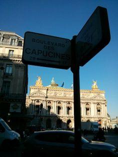 Opéra Garnier vu du Boulevard des Capucines - Décembre 2013