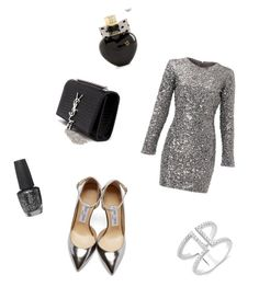 """Untitled #15"" by soukupova-t on Polyvore featuring Slate & Willow, Jimmy Choo, Yves Saint Laurent, OPI and Aéropostale"