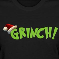 Grinch with Santa Ha