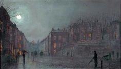 John Atkinson, el pintor de la noche.