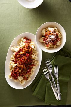 Tortellini Arrabbiata from familycircle.com #myplate #pasta
