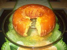 Aprenda a preparar a receita de Bolo de laranja com calda