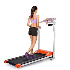 Folding Treadmills Clearence Mini Electric Running Treadmill for Home Office Training Fitness Exercise, Orange Compact Treadmill, Home Treadmill, Electric Treadmill, Folding Treadmill, Running On Treadmill, Treadmill Workouts, Running Workouts, Running Training, Fun Workouts