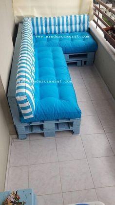 Palette Furniture, Pallet Furniture Designs, Pallet Garden Furniture, Balcony Furniture, Diy Furniture, Pallet Seating, Pallet Sofa, Pallet Benches, Pallet Tables