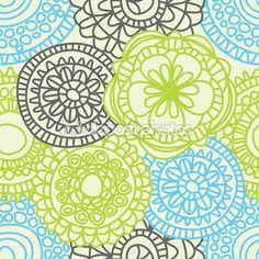Stylish floral seamless pattern — Stock Illustration #5963519