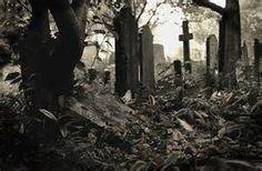 Cemeteries are creepy