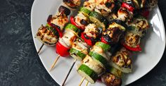 What's summer without some serious grilling? This easy chicken kabob recipe is a perfect protein-packed way to feed a crowd.