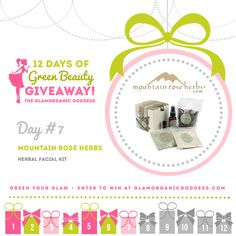 Green Beauty Giveaway Mountain Rose Herbs DAY 7