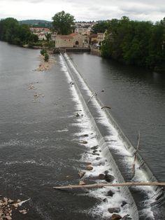 Rivier de Dordogne bij Cahors