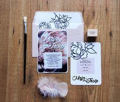 Wedding invitations by PopsDesign on Behance