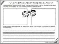 FREEBIE: Pete the Cat and His Magic Sunglasses Extension Activity