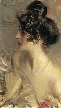 Primo piano- Giovanni Boldini ( Ferrara 1842-Parigi 1931)