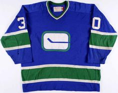 Old Canucks sweater from the Hockey Sweater, Hockey Goalie, Vancouver Canucks, Nhl, Sweaters, Money, Game, Silver, Sweater