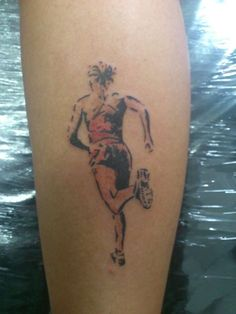 Runner Tattoo by RCavalcante