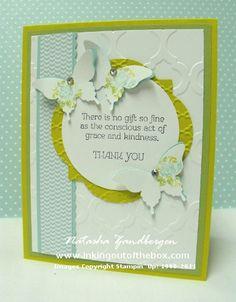 Jul 16 Soft Blue Butterflies inkingoutofthebox: Best of Shelli, Gifts of Kindness