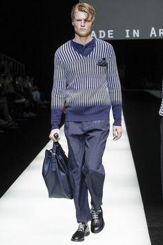 Giorgio Armani   Menswear - Spring 2018   Look 56