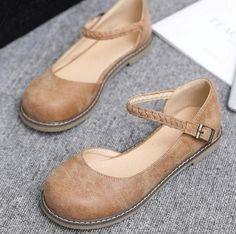 Quality Leather Slingback Shoes