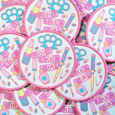 kawaii or die — Girl Gang woven patch Pin And Patches, Iron On Patches, Jacket Patches, Visual Kei, Kawaii, Supergirl, Daphne Blake, Local Girls, Grunge