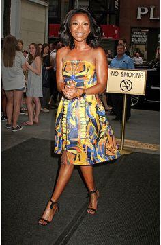 Brandy looks flawless!