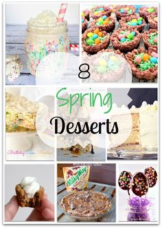 Ready for Spring - here are asome great Spring dessert recipes
