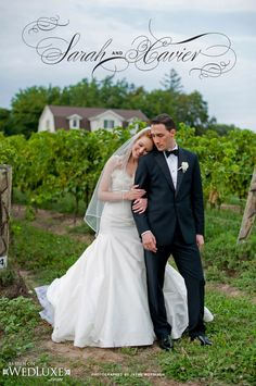 WedLuxe: Niagara-on-the-Lake wedding captured by Jayme Morrison